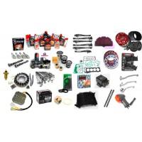Parte ciclo y accesorios (Frenos, amortiguadores, manetas, palancas, cables y fundas, tornillos etc...)