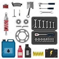 Herramientas, accesorios, útiles y equipamiento